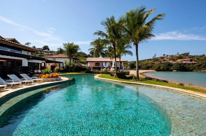 Casa Luxuosafrente mar em Buzios Rio de Janeiro