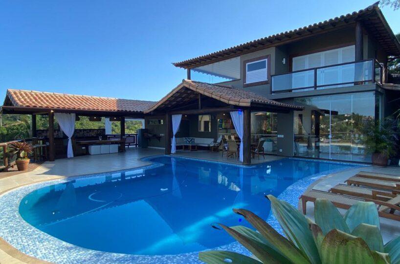 Magnífica casa - praia da Ferradura - Buzios - RIO DE JANEIRO