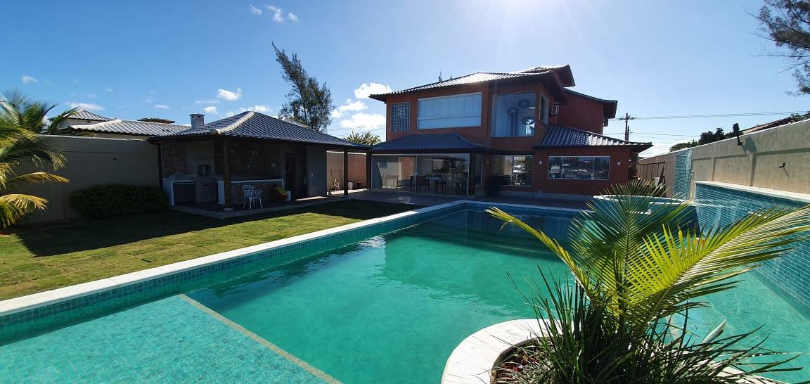 locação casa alto padrao em buzios - piscina