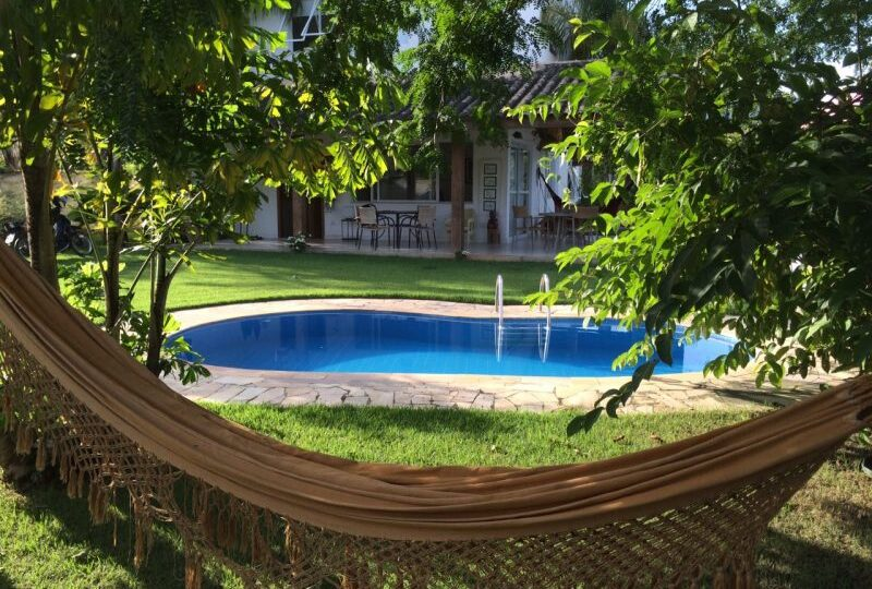venda casa em paraty rio de janeiro - piscina rede
