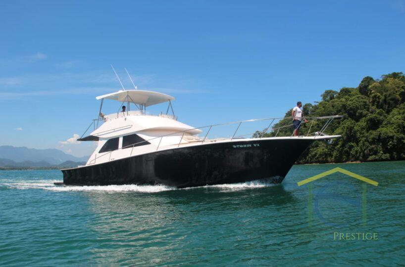 Aluguel de lancha - Angra Dos Reis RIO DE JANEIRO - Ocean Pro 55