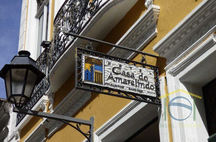 Venda lindo hotel de charme Casa do Amarelindo - Salvador da Bahia - Brasil