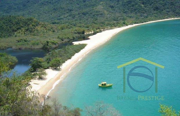 Praia Grande da Cajaíba à Venda no Litoral de Paraty - Rio de Janeiro - Brasil