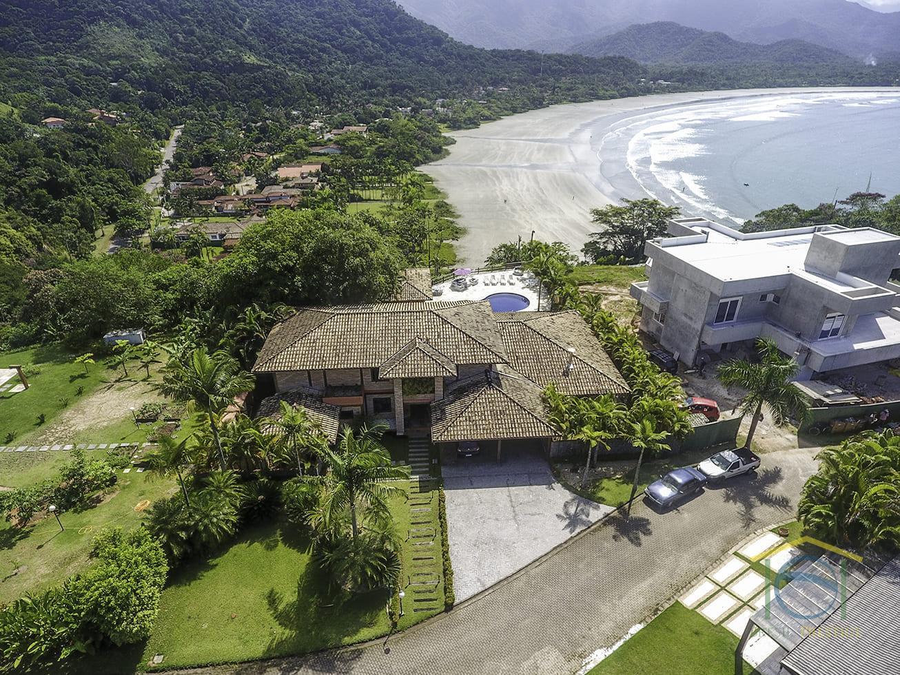 Venda Casa De Luxo Condomínio Fechado - Praia Brava do Sul - Ubatuba - São Paulo - Brasil