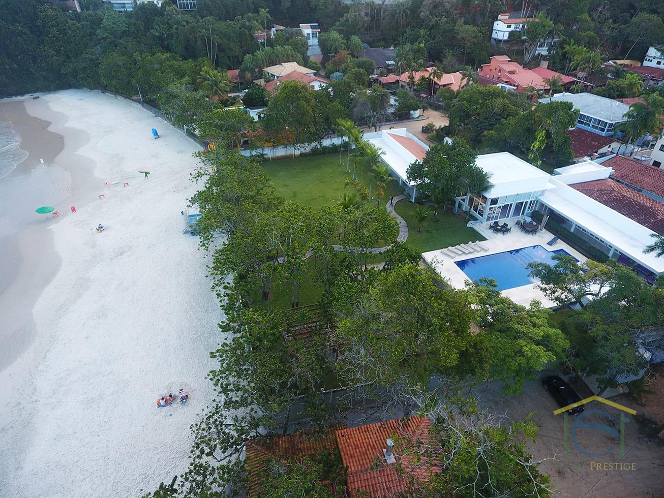 Venda Casa De Luxo pé na areia - Praia do Tenório - Ubatuba - São Paulo - Brasil